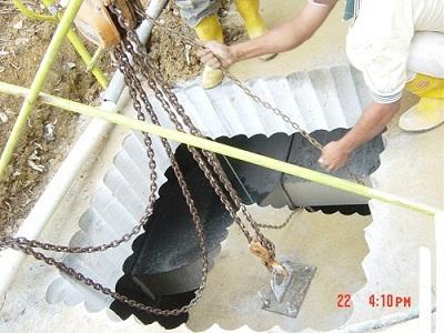 Phương pháp cắt hạ bê tông