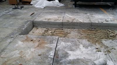 cắt bê tông nền nhà xưởng của công ty an định